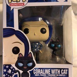 Funko Other Coraline Wcat Pop422 Box Slightly Damaged Poshmark